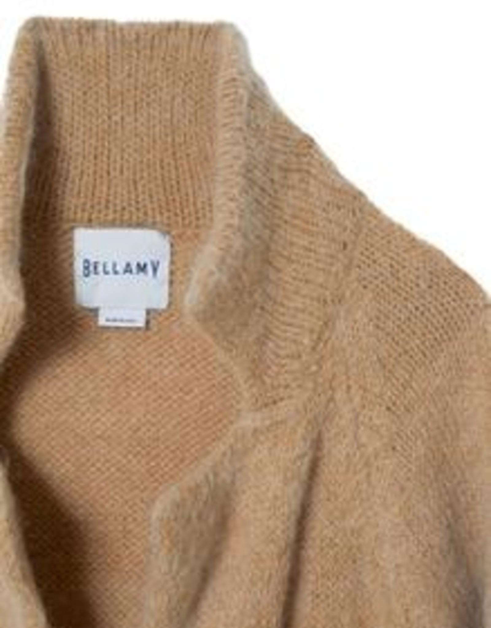 Bellamy Vest Lang Model Taupe