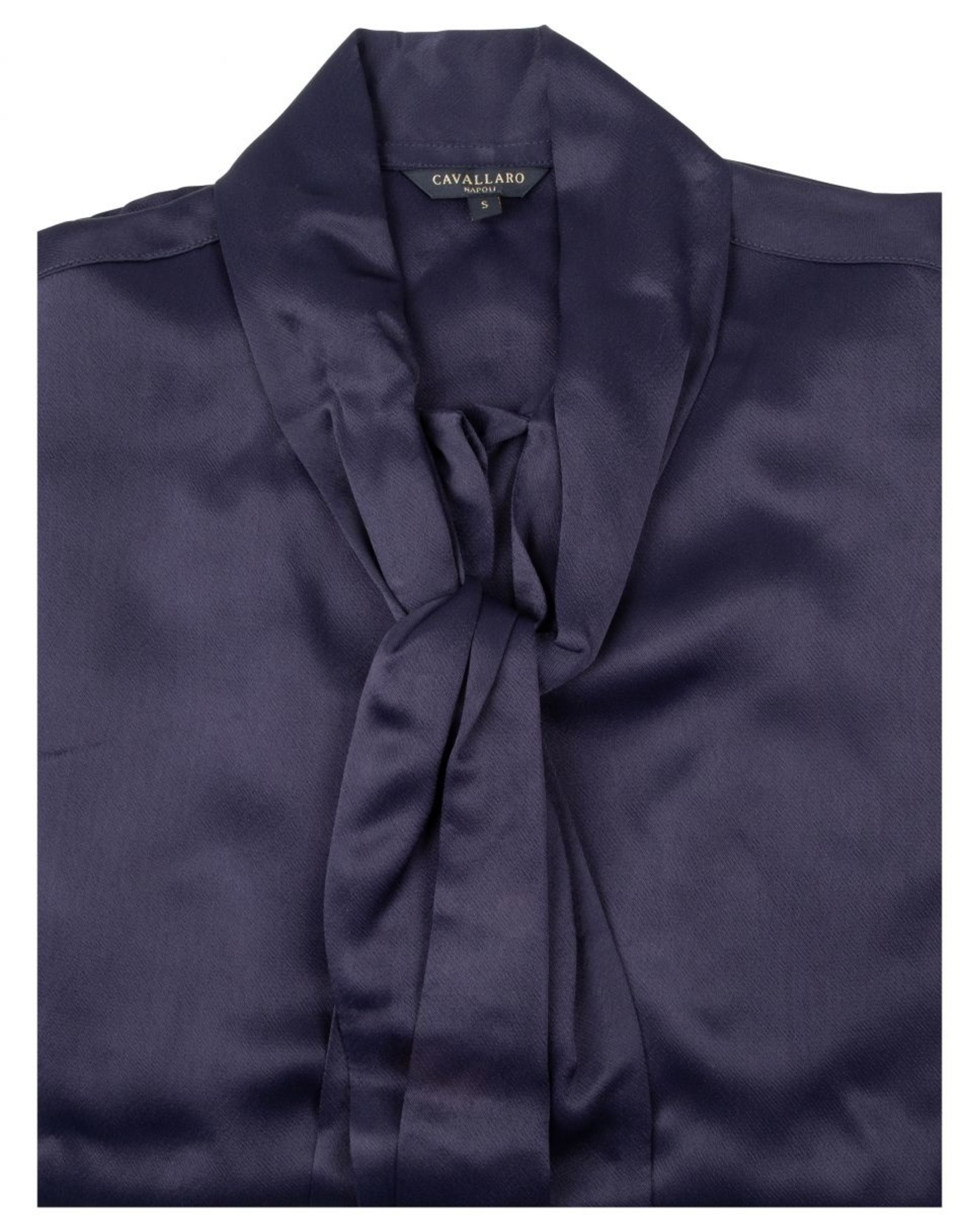 Cavallaro Blouse Bowa Dark Blue