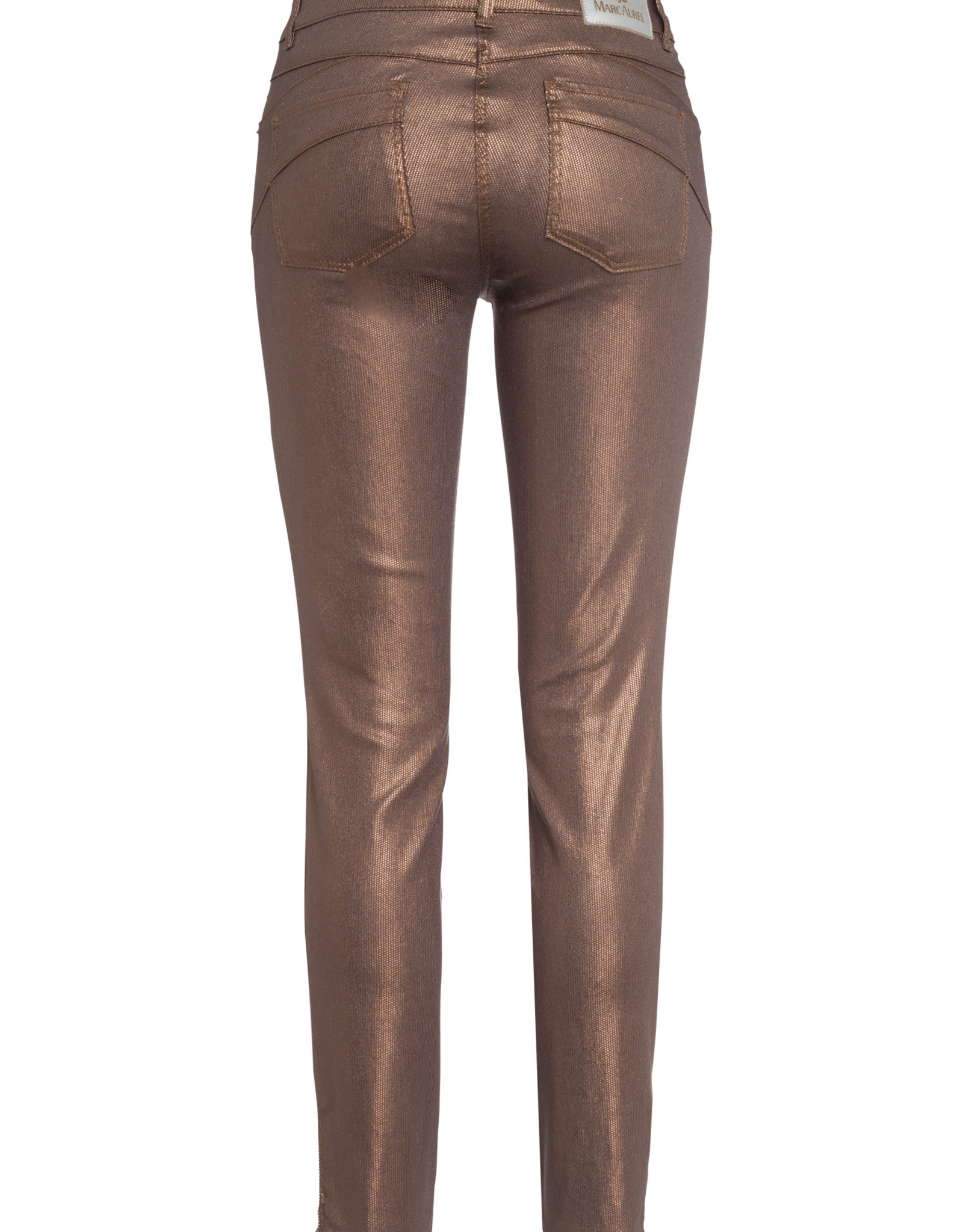 Marc Aurel Pantalon Shiny Cognac
