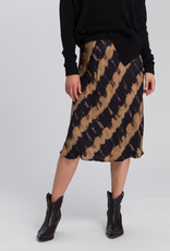 Marc Aurel Rok Midi Black Varied