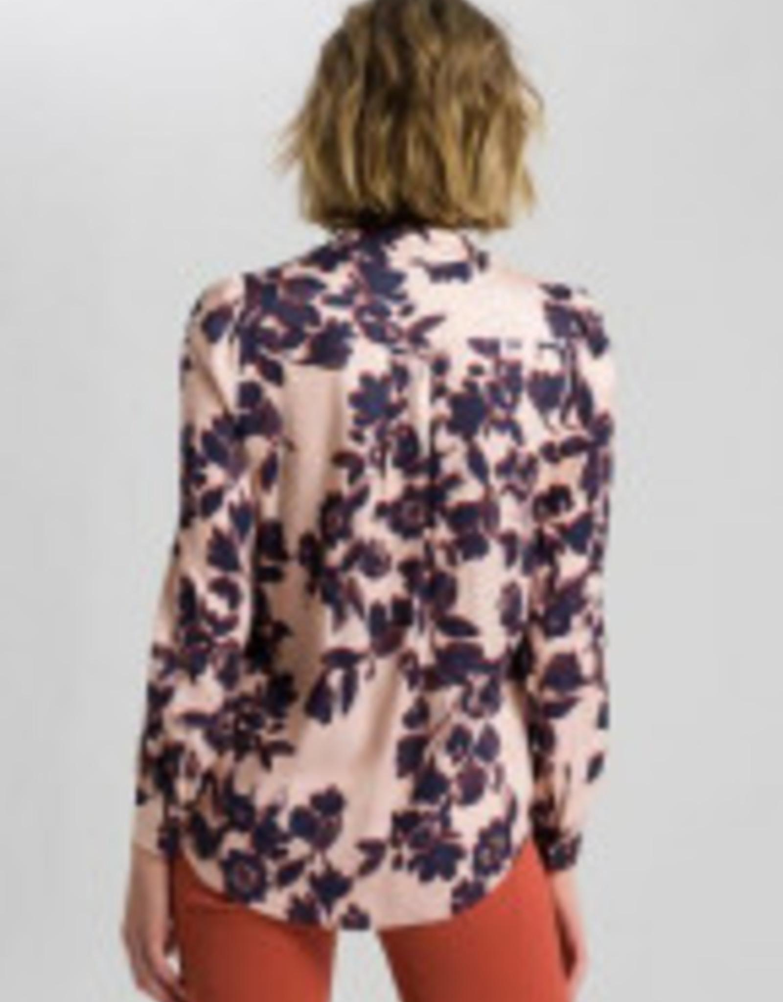 Marc Aurel Blouse Blush Varied Print