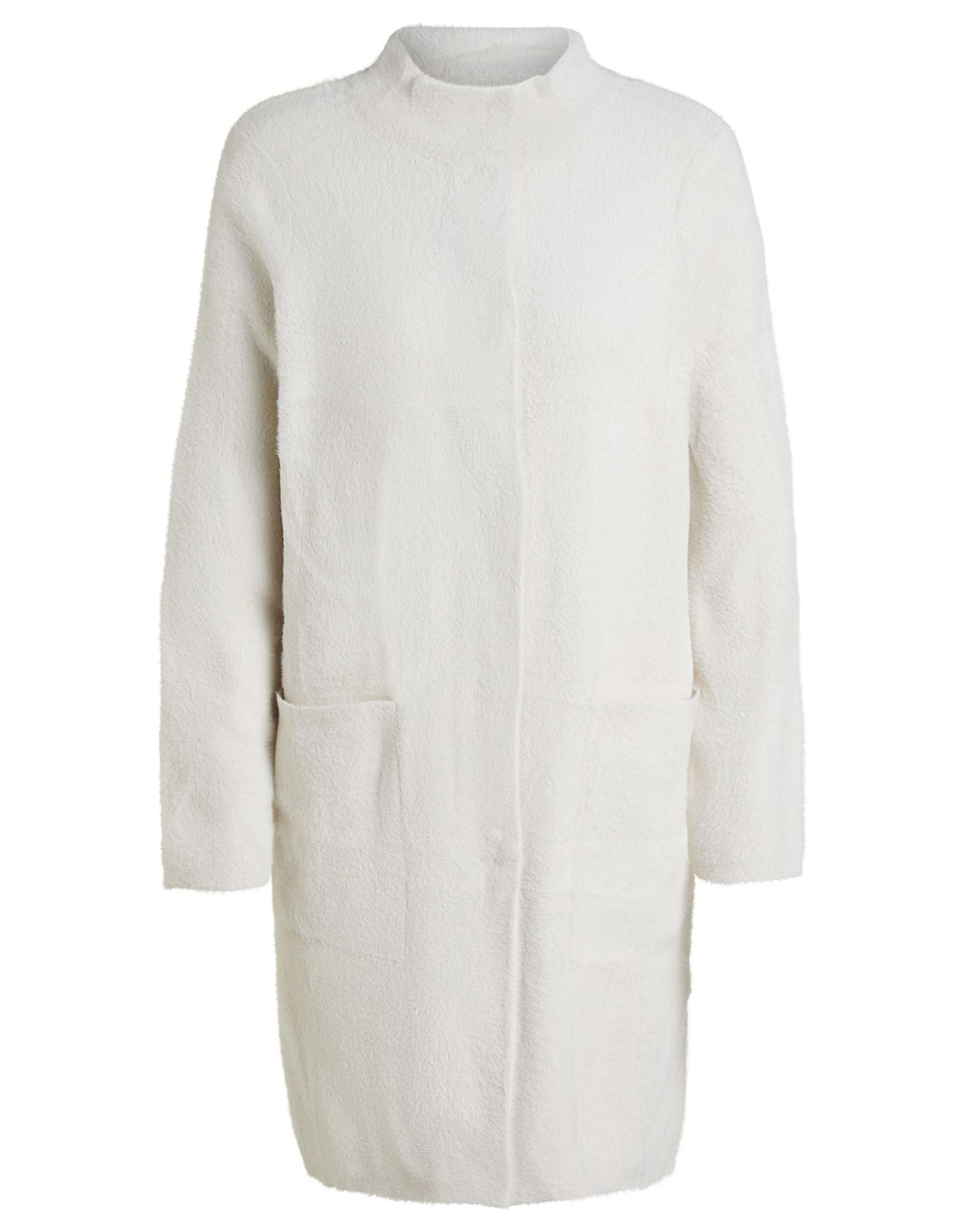 Oui Vest Fluffy White