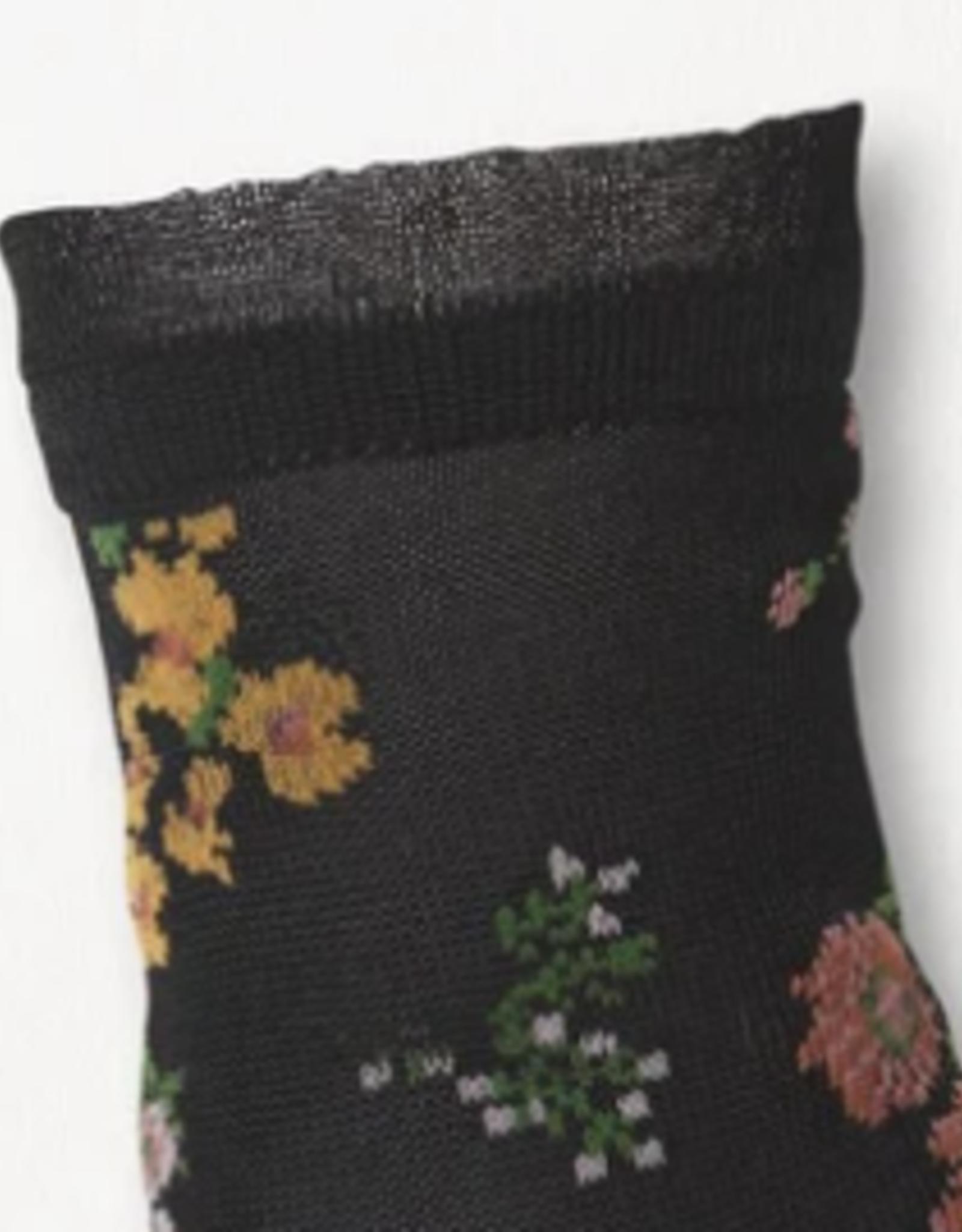 Beck Sondergaard Flowerwhirl Myla Sock Black