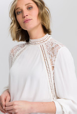 Marc Aurel Blouse Off White Kant