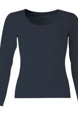 Mooi Tshirt Arlette lange mouw black