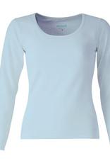 Mooi Tshirt Arlette lange mouw light blue
