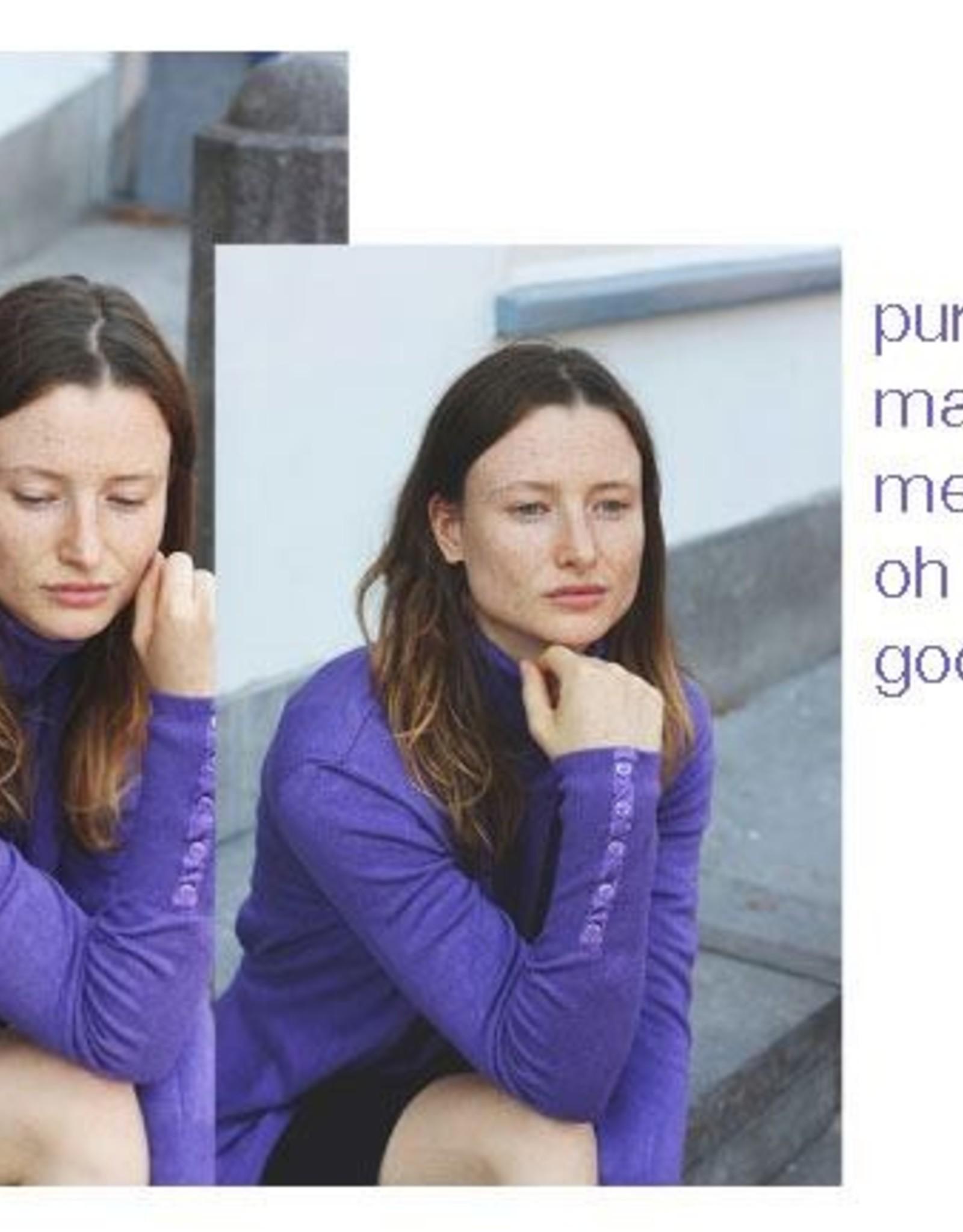 Mooi Renatte coltrui violet melange