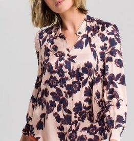 Marc Aurel Blouse Blush Varied Print