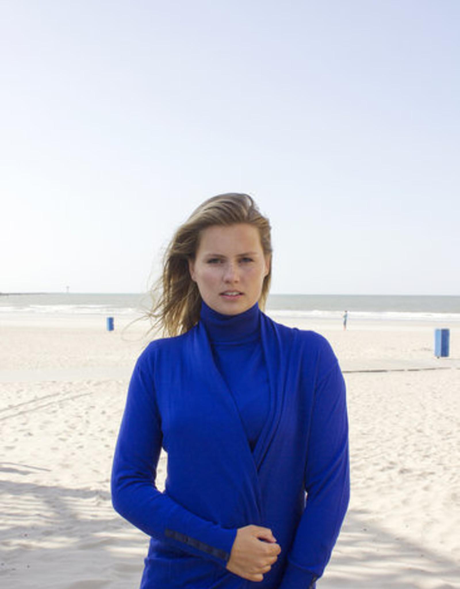 Mooi Vest Saar Classic Bleu