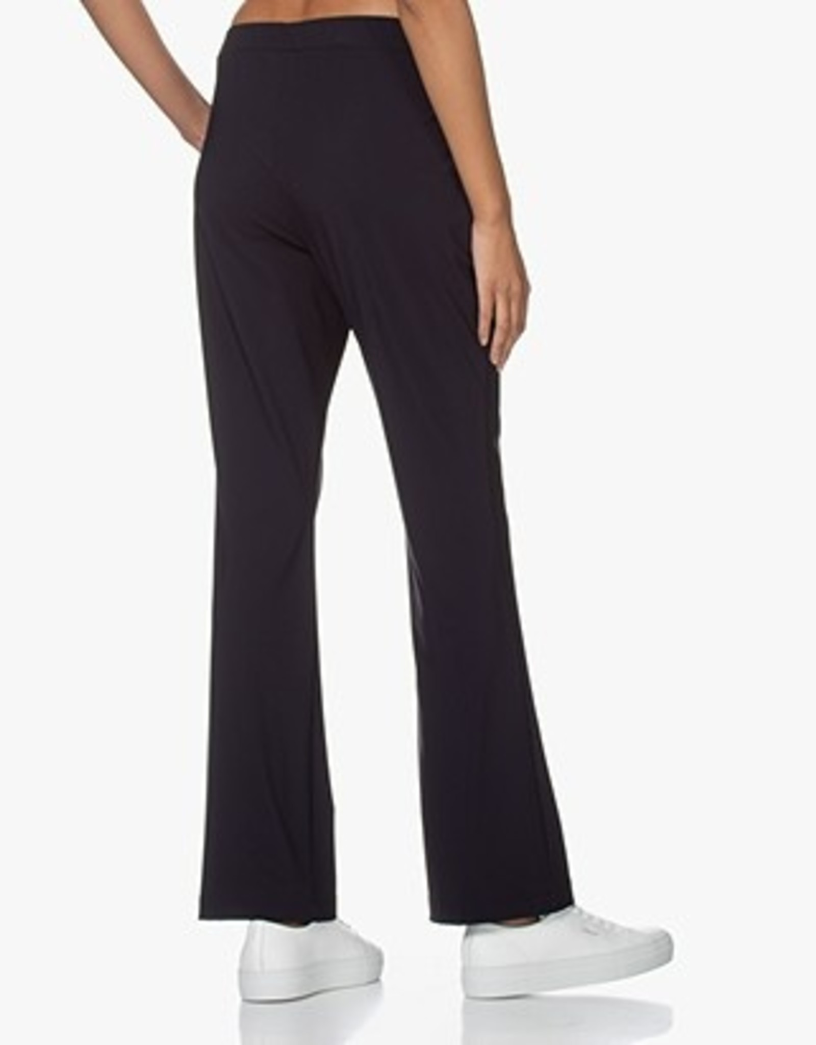 LaSalle Flared Trousers Navy