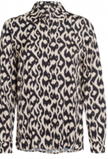 Marc Aurel Blouse Allover Print Dessert