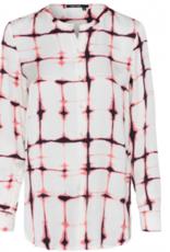 Marc Aurel Blouse Tie Dye Batik Rosewood