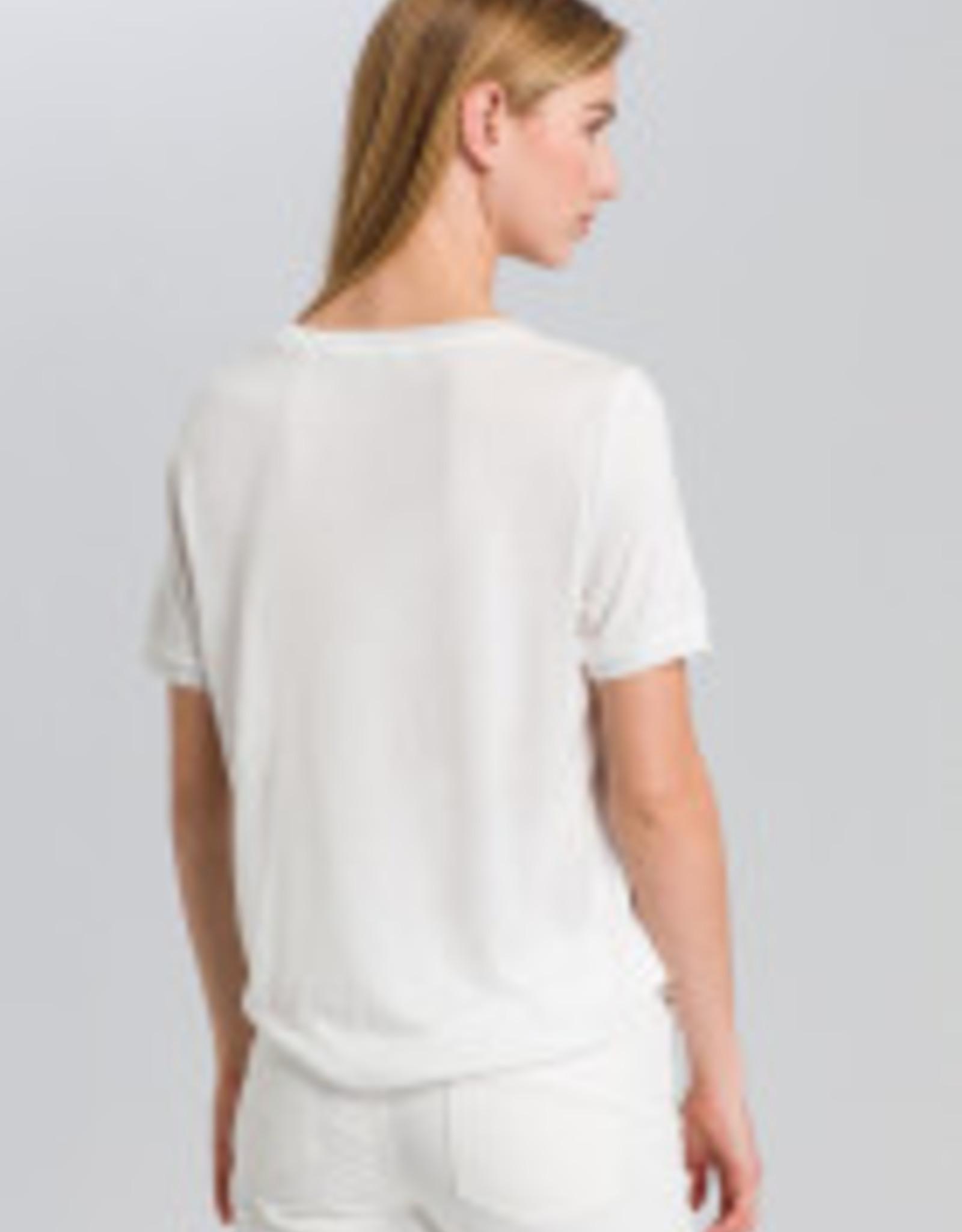 Marc Aurel T-Shirt Front Print Peach