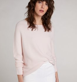 Oui Basis Pullover Rose