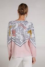 Oui Pullover Tijger-Print