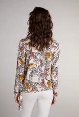 Oui Top Travelwear Tijger-Print