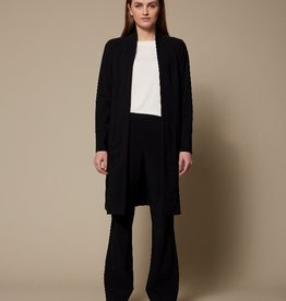 LaSalle Long Cardigan Black