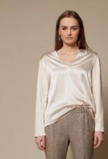 LaSalle Top Silk Front Panna