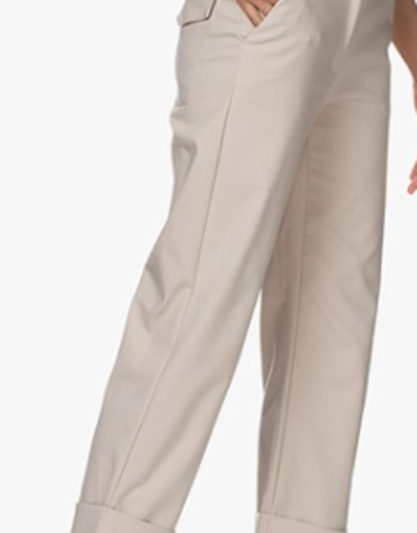 LaSalle Pantalon Cropped Sand