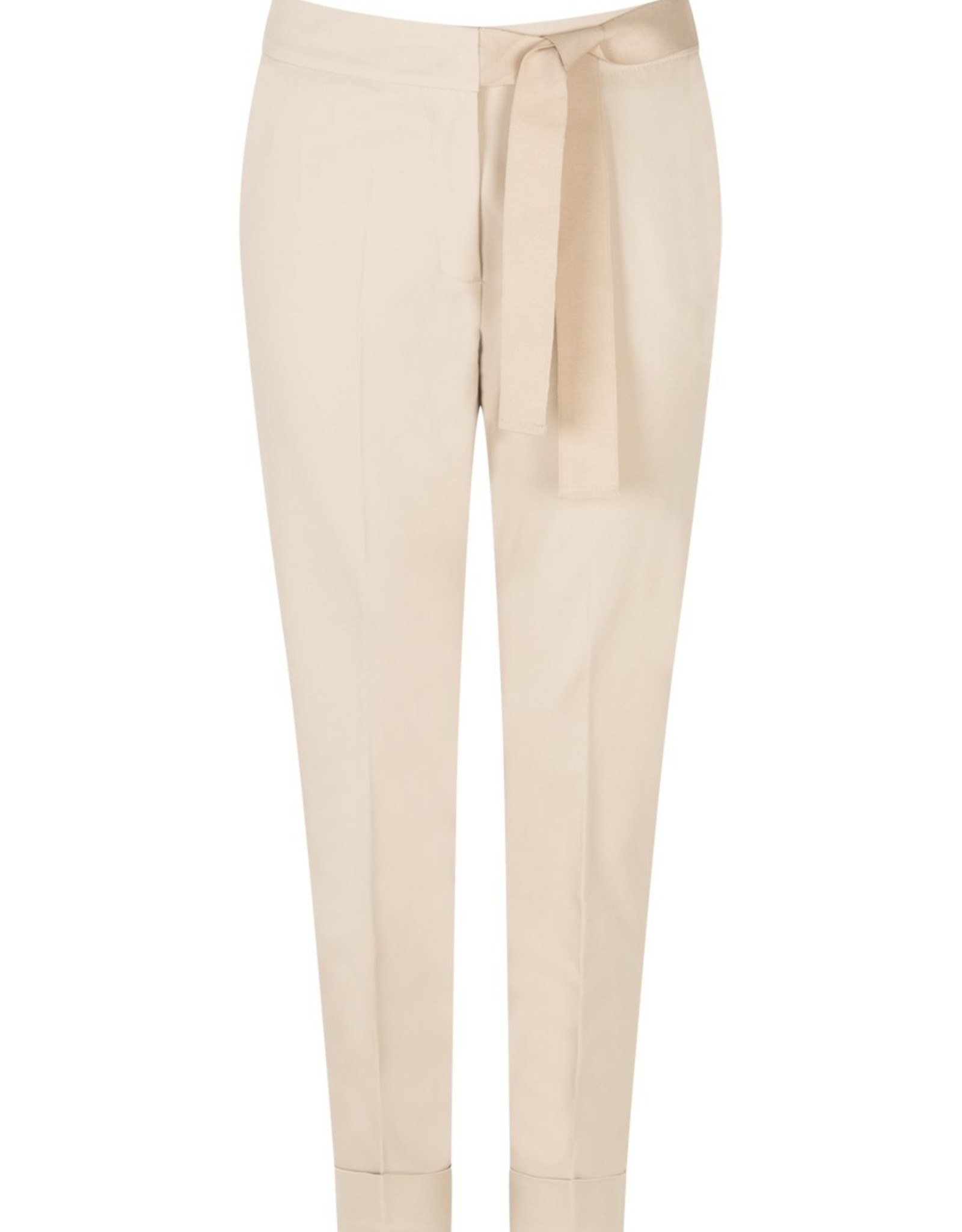 LaSalle Pantalon Met Strik Sand
