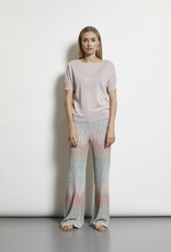 LaSalle Pantalon Positano Print Rose Mint