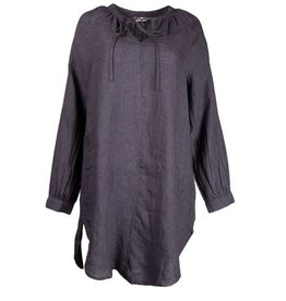 JcSophie Tuniek / Blouse Granada Midnight Blue Linnen