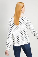 PENNYBLACK Blouse Navy Dots Odometro