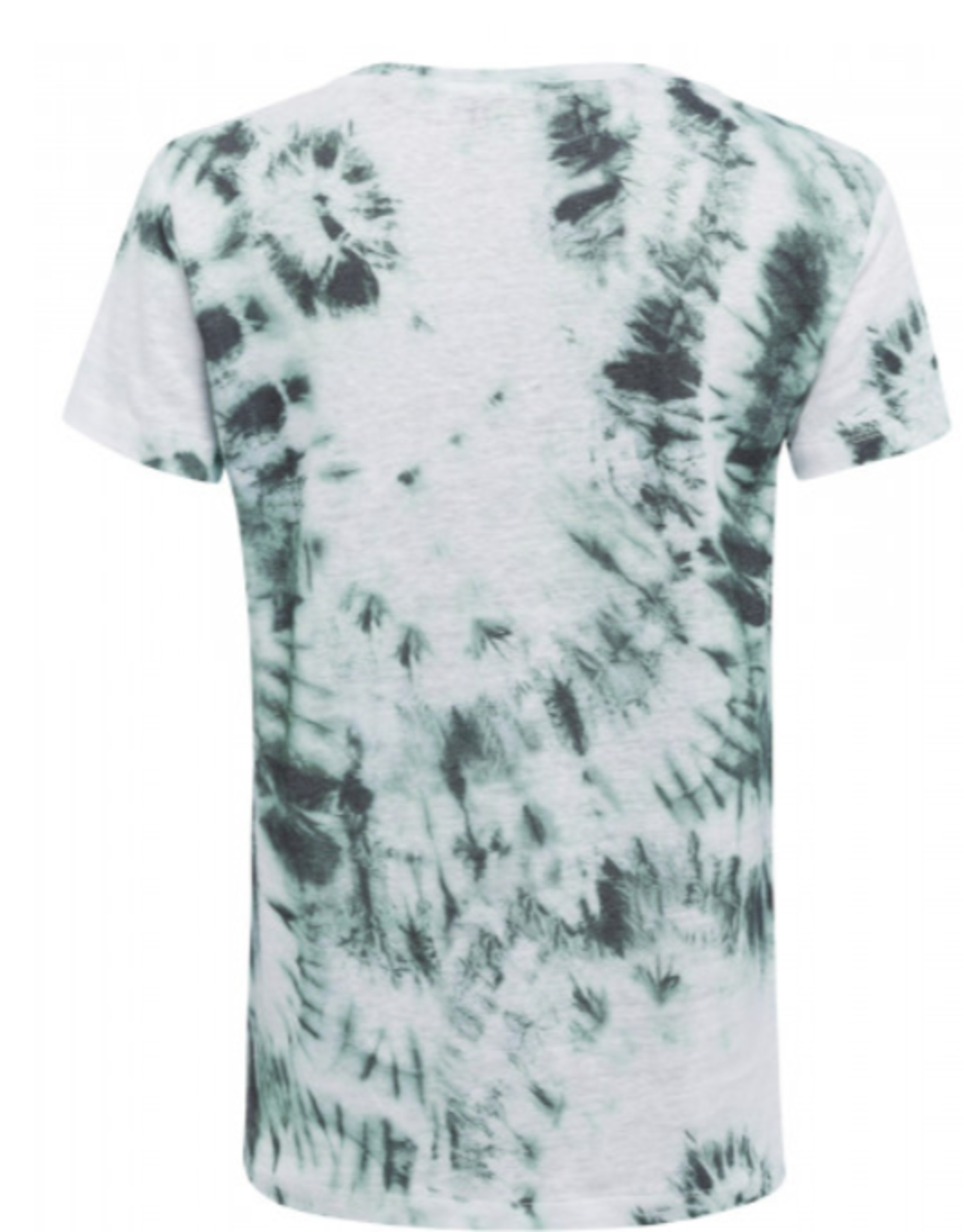 Marc Aurel T Shirt Varied Jade V Hals