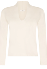 LaSalle V Neck Pullover Rose
