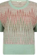 LaSalle Pullover Positano Print Rose Mint