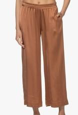 LaSalle Pantalon Uni Toffee