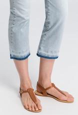 Marc Aurel Jeans Bleu Denim Cropped Kick