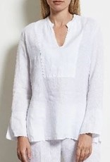LaSalle Linnen Blouse/Top White