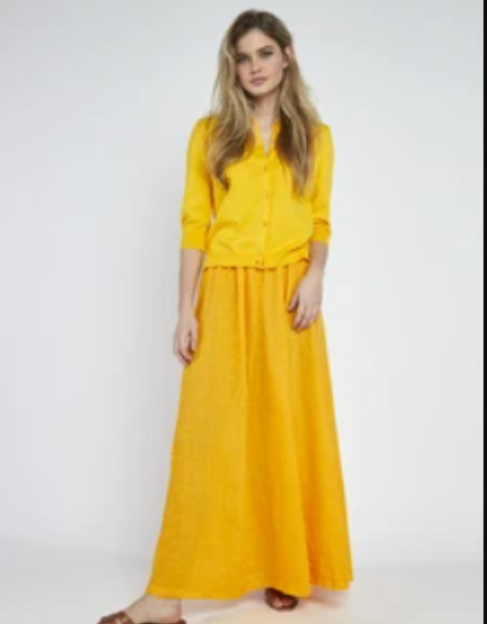 Bellamy Rok Linnen Sunflower