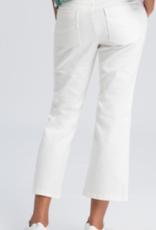Marc Aurel Jeans Wit Cropped Kick