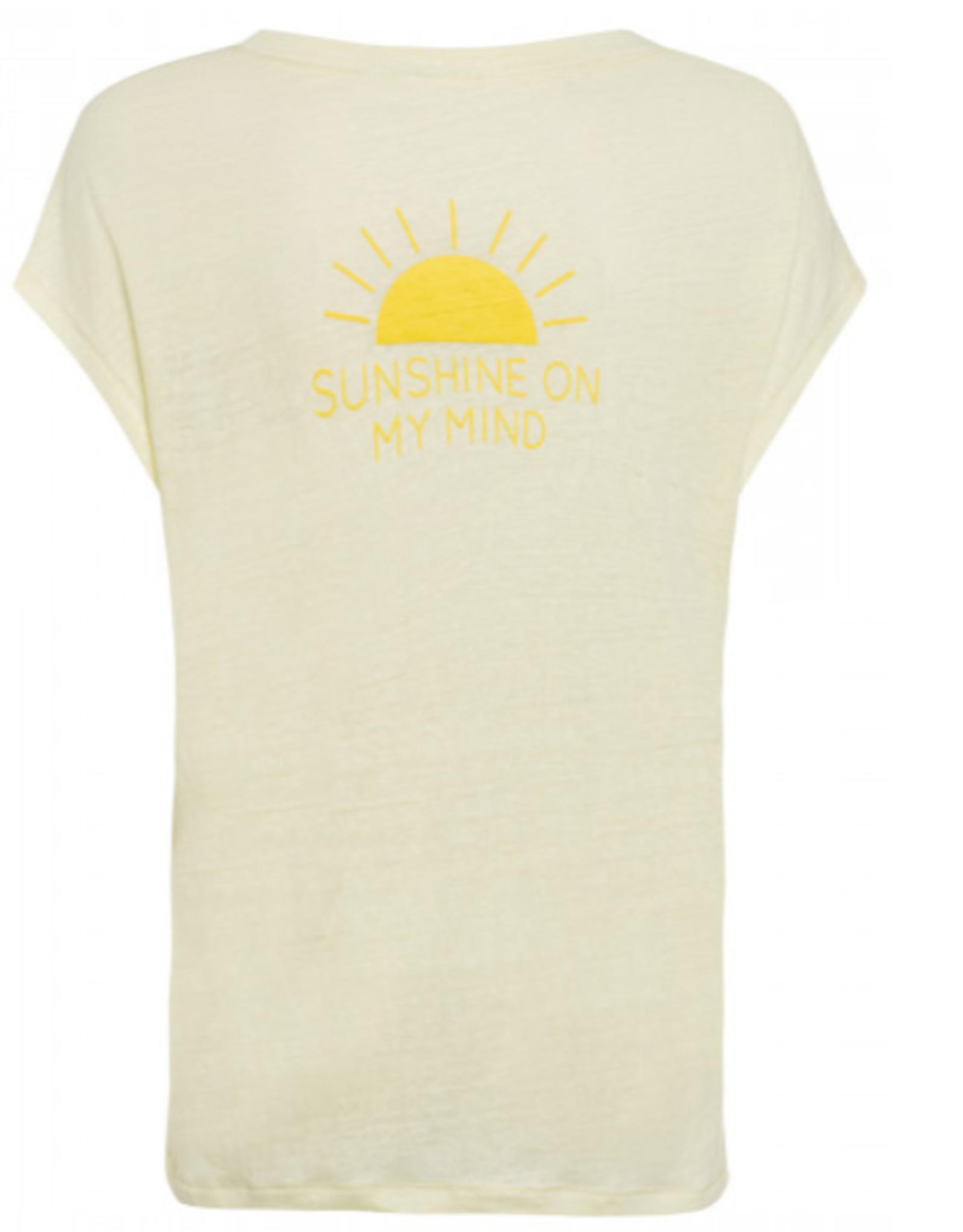 Marc Aurel T-Shirt Yellow Print