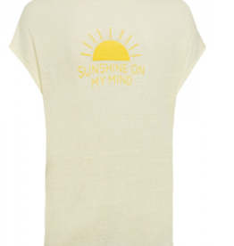 Marc Aurel T-Shirt Yellow Print