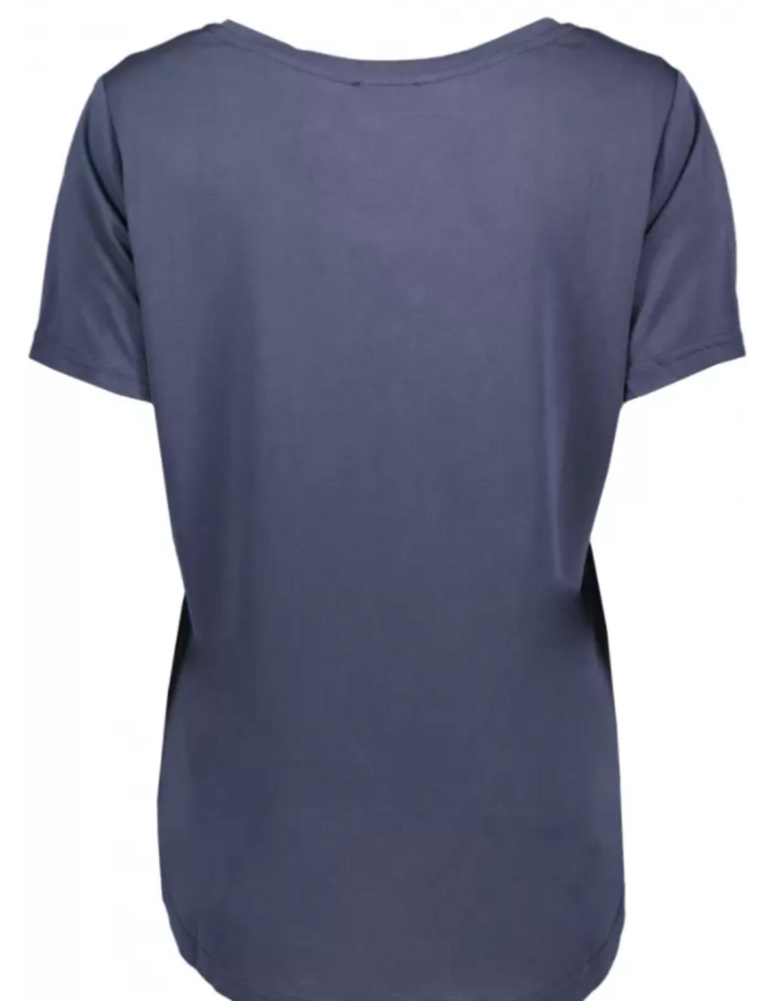 JcSophie T Shirt Golden  Navy