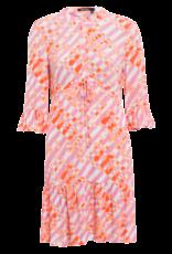 Marc Aurel Jurk Pink Varied