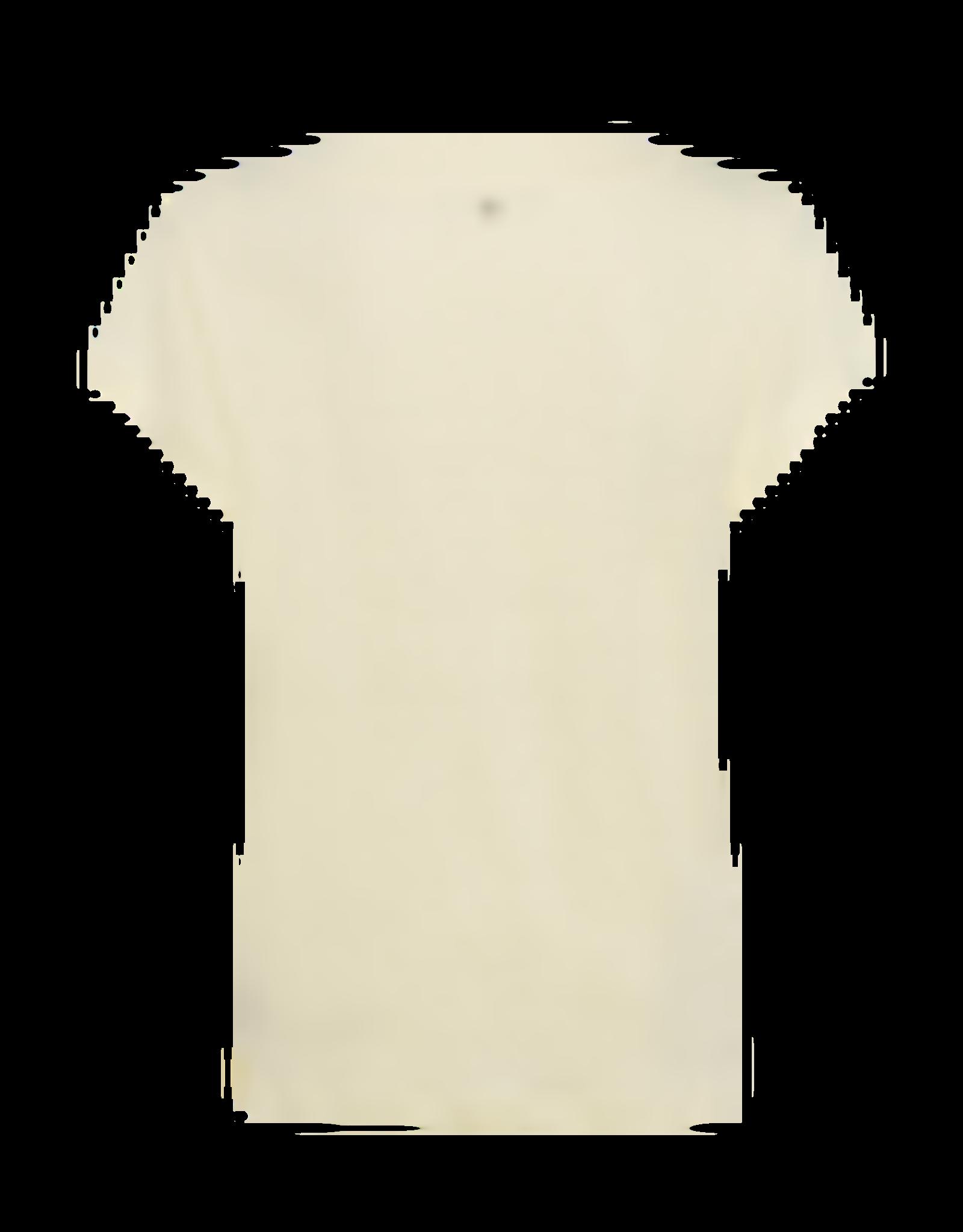 Marc Aurel T-Shirt Linnen V-Hals Licht Geel