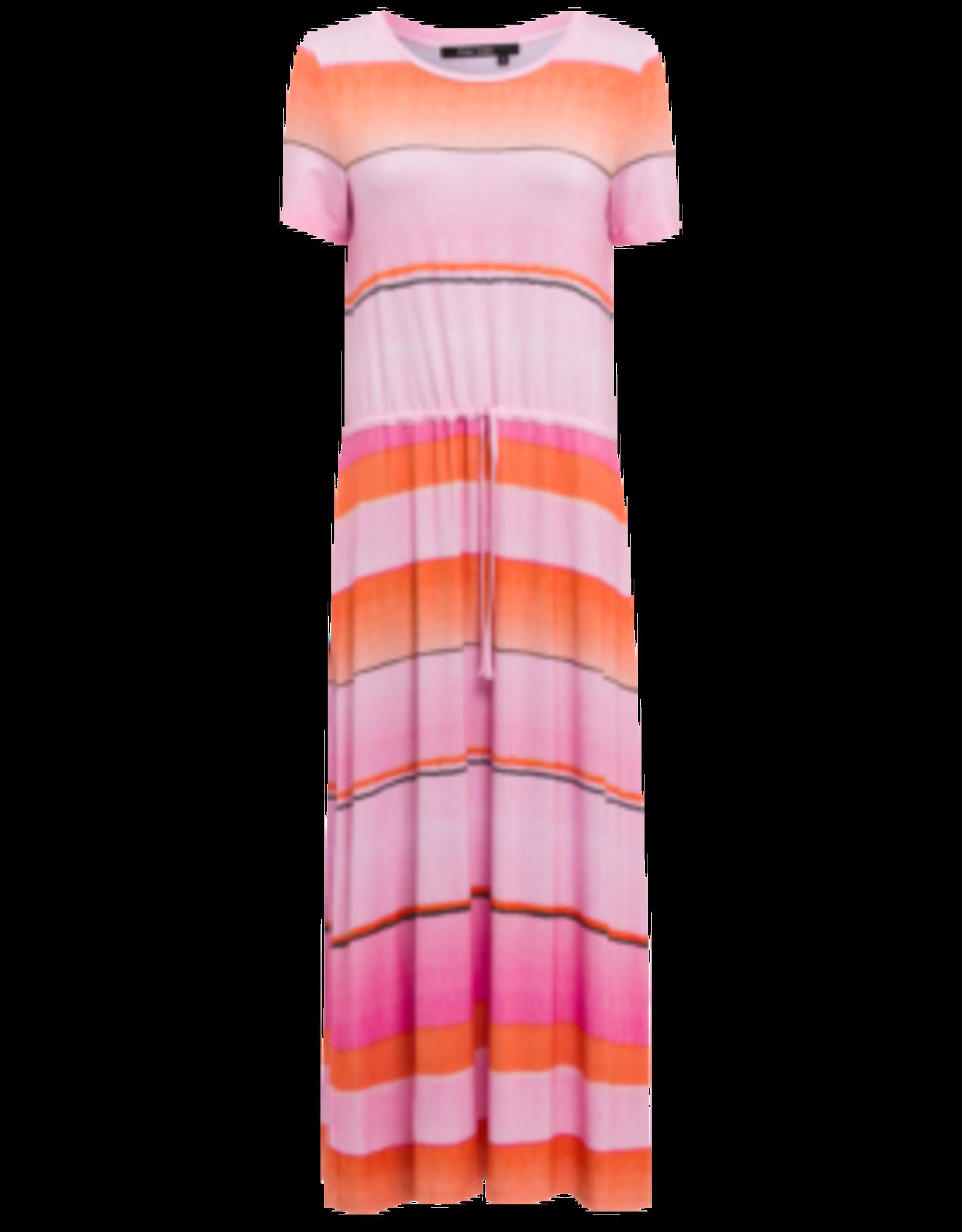 Marc Aurel Jurk Jersey Pink Degradè