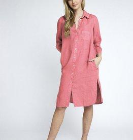 Bellamy Jurk Linnen Fresh Pink