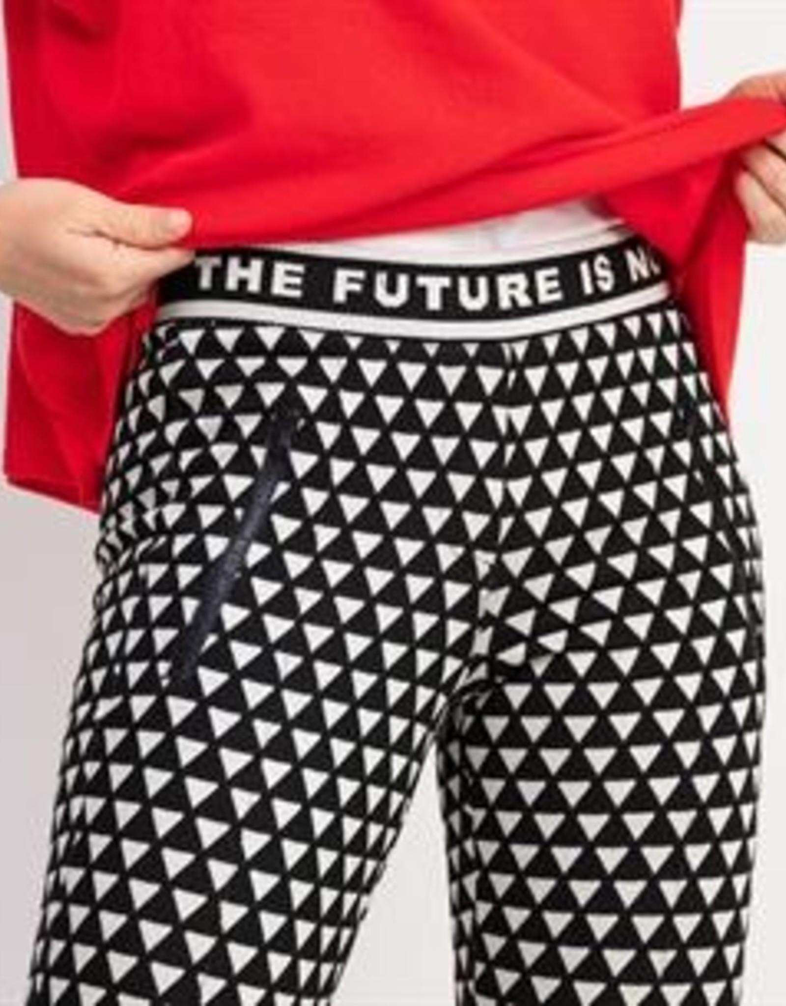 Cambio Pantalon Ranee Easy Kick Black White