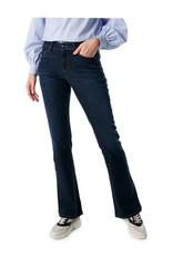 Cambio Jeans Flared Fresh Dark Wash
