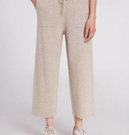 Oui Pantalon Tricot Light Stone