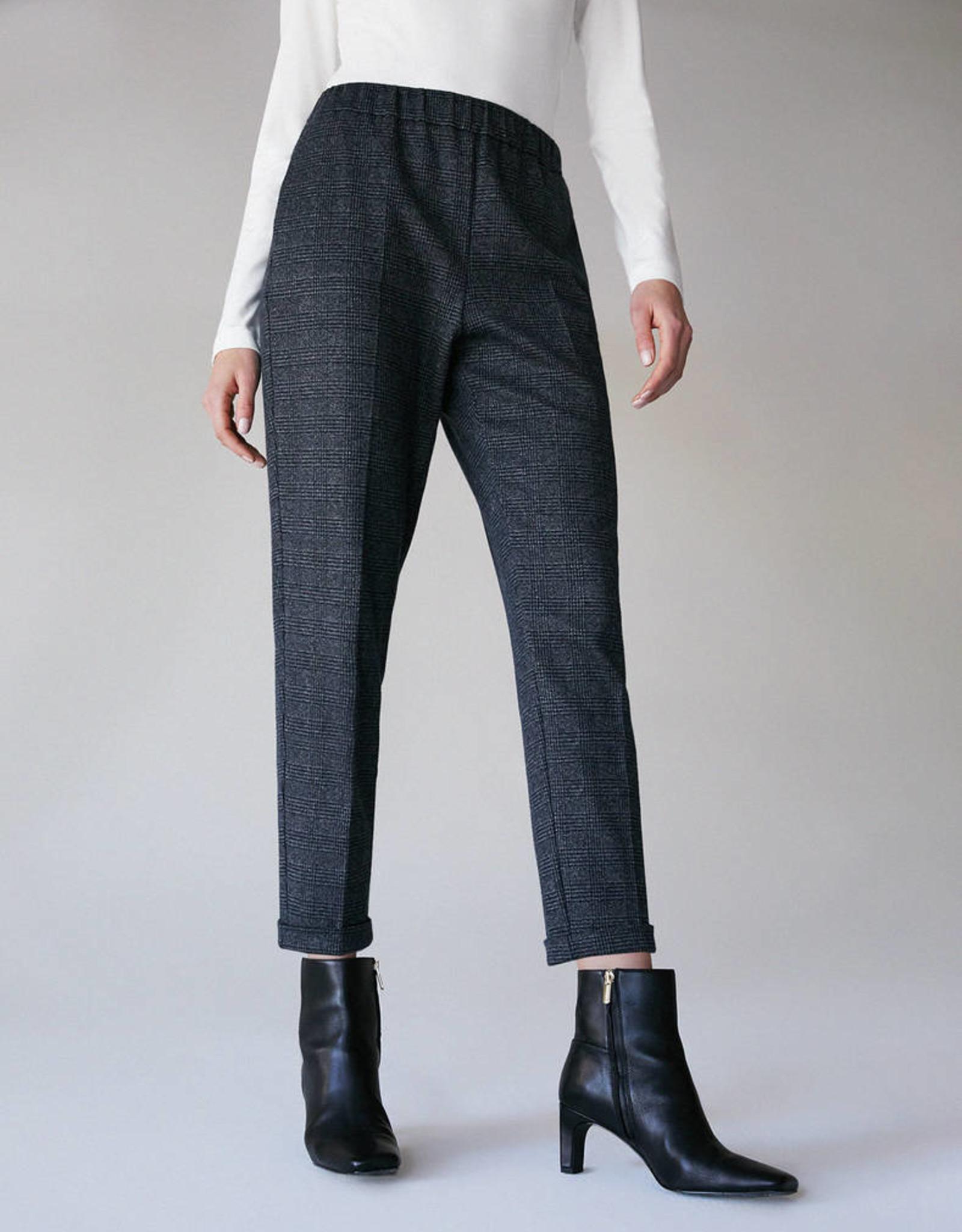 PENNYBLACK Pantalon Libero Grijze Ruit