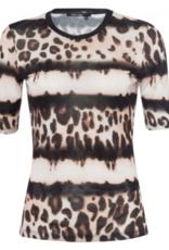 Marc Aurel Shirt All Over Print Caviar Varied