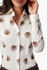 Cavallaro Blouse Michela Witte Palm