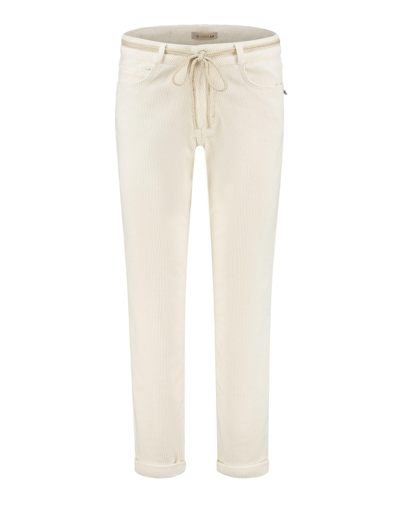 Para MI Pantalon Bobby  Vintage Corduroy Beige Marble