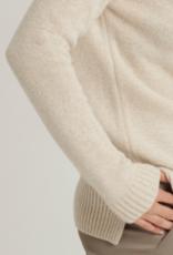 Bellamy Pullover Cashmere Roll Noortje Neck Cream Lurex
